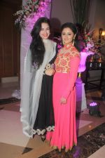 Yuvika Chaudhary with Rashmi Desai at Designer Manali Jagtap Engagement in JW Marriott on 6th Sept 2014_540c4fc34ef3d.JPG