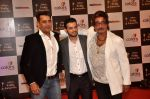 Ravi Kishan, Shakti Kapoor, Karan Patel at Indian Telly Awards in Filmcity, Mumbai on 9th Sept 2014 (728)_5410071ba96c4.JPG