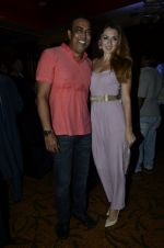Vindu Dara Singh, Dina Umarova at the launch of Mika_s album in Novotel, Mumbai on 9th Sept 2014 (82)_54100afb4bc31.JPG