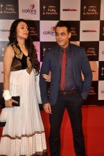 Yash Tonk, Gauri Tonk at Indian Telly Awards in Filmcity, Mumbai on 9th Sept 2014 (584)_5410094f1a49e.JPG