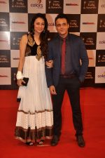 Yash Tonk, Gauri Tonk at Indian Telly Awards in Filmcity, Mumbai on 9th Sept 2014 (586)_541009507be60.JPG