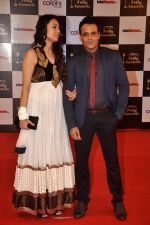 Yash Tonk, Gauri Tonk at Indian Telly Awards in Filmcity, Mumbai on 9th Sept 2014 (588)_54100951de220.JPG