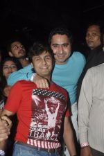 Sonu Nigam, DJ Khushi at the Launch of Pyaar Mein Dil Pe song from Tamanchey in Royalty, Mumbai on 10th Sept 2014 (117)_5411550b27190.JPG