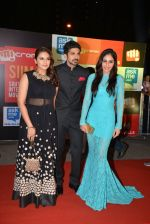 Huma Qureshi, Pooja Chopra, Saqib Saleem at Micromax Siima day 1 red carpet on 12th Sept 2014 (30)_54153dbad531c.JPG