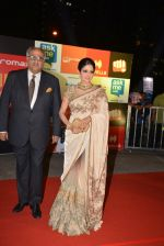 Sridevi, Boney Kapoor at Micromax Siima day 1 red carpet on 12th Sept 2014 (25)_54153e8a788ca.JPG