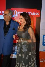 Sridevi, Boney Kapoor on day 2 of Micromax SIIMA Awards red carpet on 13th Sept 2014 (1263)_541543bbc6111.JPG