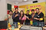 Anindita Nayar, Rannvijay Singh, Salil Acharya with Team 3 AM at Radio Mirchi Mumbai studio for movie promotion (1)_5419bf98479f7.JPG