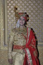 Faisal Khan at Maharana Pratap Singh wedding scene on location in Filmcity on 17th Sept 2014  (1)_541ab830e2c20.JPG