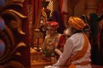 Faisal Khan at Maharana Pratap Singh wedding scene on location in Filmcity on 17th Sept 2014  (6)_541ab81119b6f.JPG