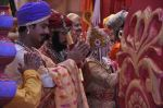 Faisal Khan at Maharana Pratap Singh wedding scene on location in Filmcity on 17th Sept 2014  (7)_541ab8121ebbf.JPG