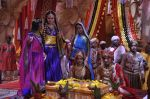 Faisal Khan, Roshni Walia at Maharana Pratap Singh wedding scene on location in Filmcity on 17th Sept 2014  (33)_541ab8565cb7d.JPG