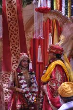 Faisal Khan, Roshni Walia at Maharana Pratap Singh wedding scene on location in Filmcity on 17th Sept 2014  (35)_541ab8577b8a8.JPG