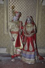 Faisal Khan, Roshni Walia at Maharana Pratap Singh wedding scene on location in Filmcity on 17th Sept 2014  (37)_541ab858d2318.JPG