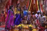 Faisal Khan, Roshni Walia at Maharana Pratap Singh wedding scene on location in Filmcity on 17th Sept 2014  (40)_541ab85b51b14.JPG