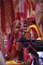 Faisal Khan, Roshni Walia at Maharana Pratap Singh wedding scene on location in Filmcity on 17th Sept 2014  (34)_541ab8202e684.JPG