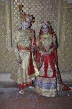 Faisal Khan, Roshni Walia at Maharana Pratap Singh wedding scene on location in Filmcity on 17th Sept 2014  (36)_541ab82183b0d.JPG
