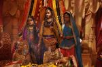 Faisal Khan, Roshni Walia at Maharana Pratap Singh wedding scene on location in Filmcity on 17th Sept 2014  (41)_541ab823e33c8.JPG