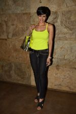 Mandira Bedi at the special screening of Khoobsurat hosted by Anil Kapoor in Lightbox on 18th Sept 2014
