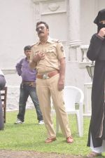 Mukesh Tiwari on location of Mumbai can dance Saala on 18th Sept 2014 (172)_541c2a7db99a3.JPG