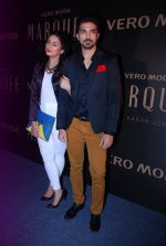 Huma Qureshi, Saqib Saleem at Vero Moda Red Carpet in Mehboob on 19th Sept 2014 (914)_541e67514c259.JPG