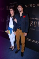 Huma Qureshi, Saqib Saleem at Vero Moda Red Carpet in Mehboob on 19th Sept 2014 (918)_541e67529a52c.JPG