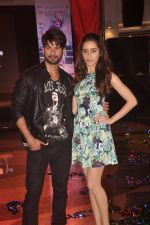 Shahid Kapur & Shraddha Kapoor unveil Haider Song with Flash mob in Mumbai on 19th Sept 2014 (50)_541e6102095cd.JPG