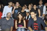 Charu Dutt Acharya, Rhea Chakraborty, Raghav Juyal at Sonali Cable promotions in Sydenham college, Mumbai on 21st Sept 2014 (73)_541fcd58845c8.JPG