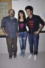 Charu Dutt Acharya, Rhea Chakraborty, Raghav Juyal at Sonali Cable promotions in Sydenham college, Mumbai on 21st Sept 2014 (56)_541fcd1cd5b01.JPG
