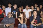 Charu Dutt Acharya, Rhea Chakraborty, Raghav Juyal at Sonali Cable promotions in Sydenham college, Mumbai on 21st Sept 2014 (71)_541fcd1f3f0a9.JPG