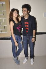 Rhea Chakraborty, Raghav Juyal  at Sonali Cable promotions in Sydenham college, Mumbai on 21st Sept 2014 (109)_541fcd5c8cefd.JPG
