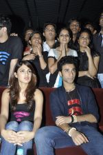 Rhea Chakraborty, Raghav Juyal  at Sonali Cable promotions in Sydenham college, Mumbai on 21st Sept 2014 (117)_541fcd5f09966.JPG