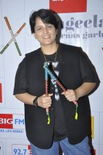 Falguni Pathak at big fm to talk about the dandia season in Mumbai on 23rd Sept 2014 (1)_54223020db0e0.JPG