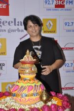 Falguni Pathak at big fm to talk about the dandia season in Mumbai on 23rd Sept 2014 (10)_54222ffe06b35.JPG