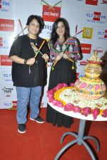Falguni Pathak at big fm to talk about the dandia season in Mumbai on 23rd Sept 2014 (16)_54223001a96da.JPG
