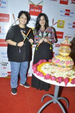Falguni Pathak at big fm to talk about the dandia season in Mumbai on 23rd Sept 2014 (17)_5422300275e25.JPG