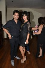 Karan Mehra, Nisha Rawal at Munisha Khatwani_s bday bash in Esco Bar on 24th Sept 2014 (152)_542406e0a94b9.JPG