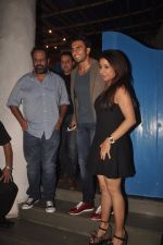 Ranveer Singh, Krishika Lulla snapped at Olive on 24th Sept 2014 (46)_5424448c554e4.JPG