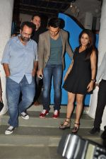 Ranveer Singh, Krishika Lulla snapped at Olive on 24th Sept 2014 (71)_54244493a1c74.JPG