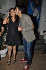 Ranveer Singh, Krishika Lulla snapped at Olive on 24th Sept 2014 (72)_542444946a057.JPG