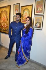Rani Mukherjee inaugurates Suvigya Sharma_s art exhibition in Cymroza Art Gallery on 25th Sept 2014 (121)_54255cc9589b5.JPG