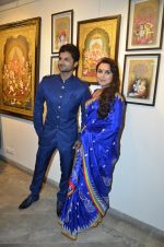 Rani Mukherjee inaugurates Suvigya Sharma_s art exhibition in Cymroza Art Gallery on 25th Sept 2014 (124)_54255ccb12d23.JPG