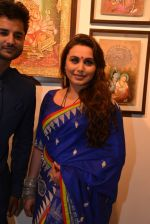 Rani Mukherjee inaugurates Suvigya Sharma_s art exhibition in Cymroza Art Gallery on 25th Sept 2014 (184)_54255cda8dbad.JPG