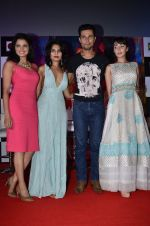 Tripta Parashar, Rachna Shah, Randeep Hooda, Ferena Wazeir at Rang Rasiya music launch in Deepak Cinema on 25th Sept 2014 (281)_54259993dcad4.JPG