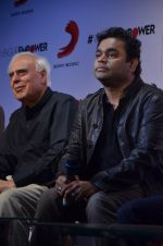A R Rahman, Kapil Sibal at Raunq album promotion by Sony Music in Blue Frog on 29th Sept 2014 (15)_542a8cb1821c7.JPG