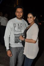 Genelia D Souza, Riteish Deshmukh snapped at Nido in Mumbai on 29th Sept 2014 (65)_542a8d50d659e.JPG