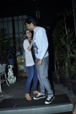 Genelia D Souza, Riteish Deshmukh snapped at Nido in Mumbai on 29th Sept 2014 (71)_542a8d532a5e8.JPG