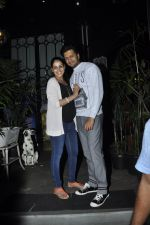 Genelia D Souza, Riteish Deshmukh snapped at Nido in Mumbai on 29th Sept 2014 (73)_542a8d53c39f6.JPG