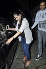 Genelia D Souza, Riteish Deshmukh snapped at Nido in Mumbai on 29th Sept 2014 (81)_542a8d566c47f.JPG