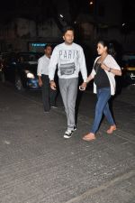 Genelia D Souza, Riteish Deshmukh snapped at Nido in Mumbai on 29th Sept 2014 (86)_542a8d57c8828.JPG