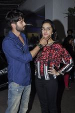 Shraddha Kapoor, Shahid Kapur at Haider screening in Sunny Super Sound on 29th Sept 2014 (132)_542a94bedcb62.JPG